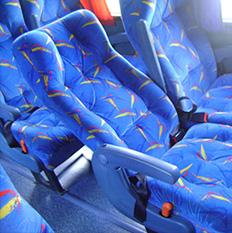 Tecidos para ônibus
